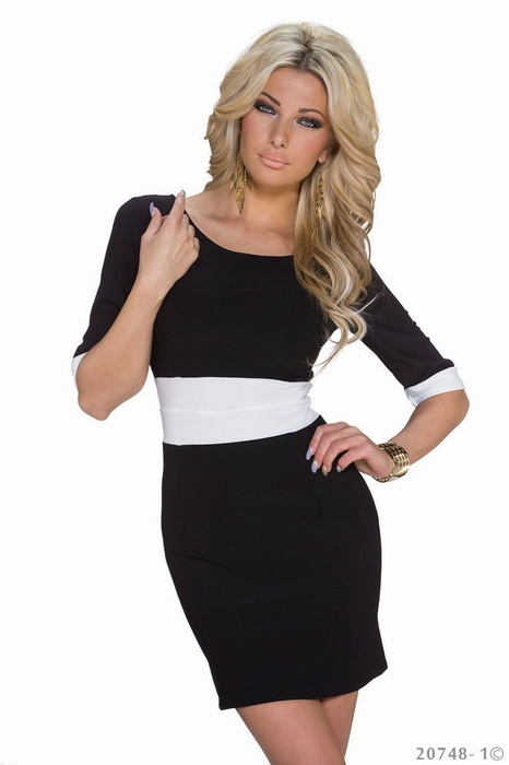 ML18306 Half Sleeves Mini Sexy Girl Summer Dress