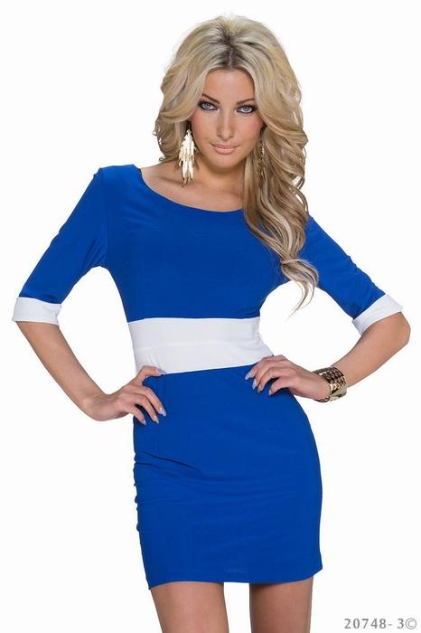 ML18308 Mini Half Sleeves Cheap Wholesale Bodycon Dress