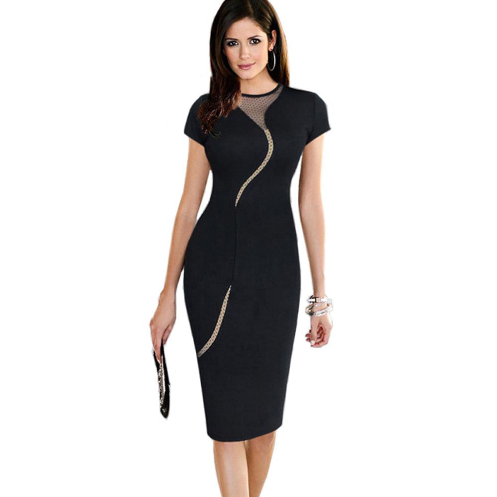 ML18661 New Arrival Sexy Black Dress