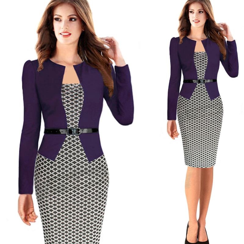 Элегантные платья для офиса