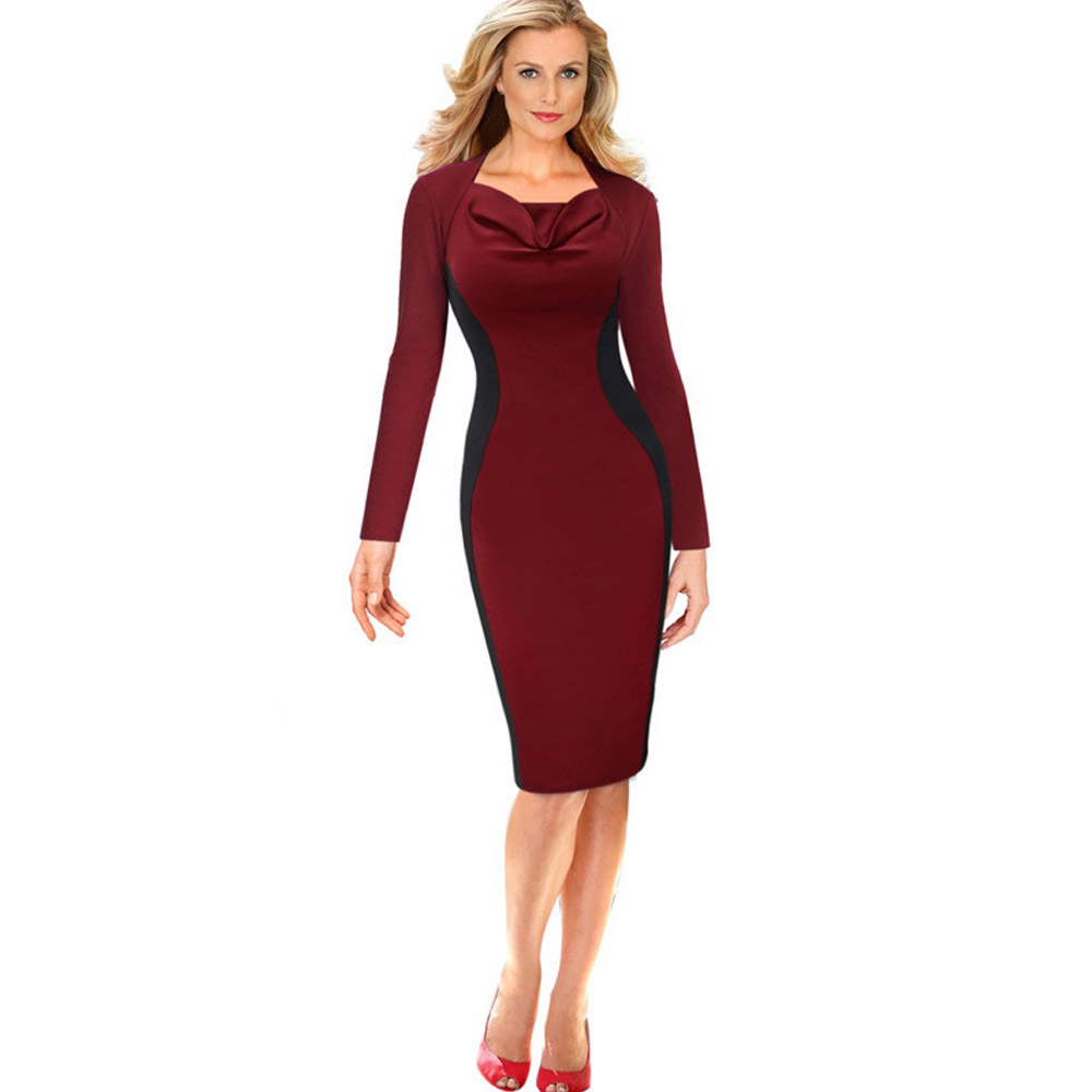 ML18744 Long Sleeves Bandage Women Bodycon Dress