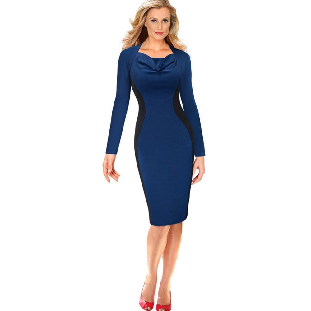 ML18745 Elegant Bandage Knee Length Sexy Dresses