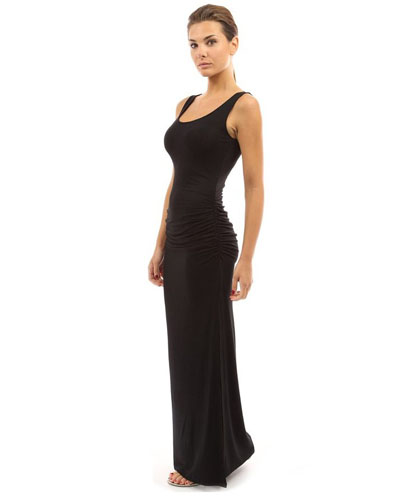 ML19083 Sleeveless Maxi Party Dress