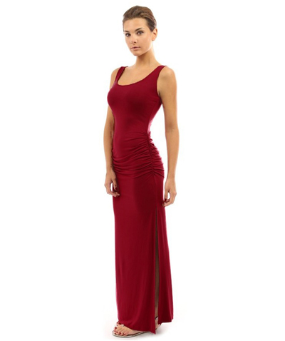 ML19087 Red Long Design Party Dress
