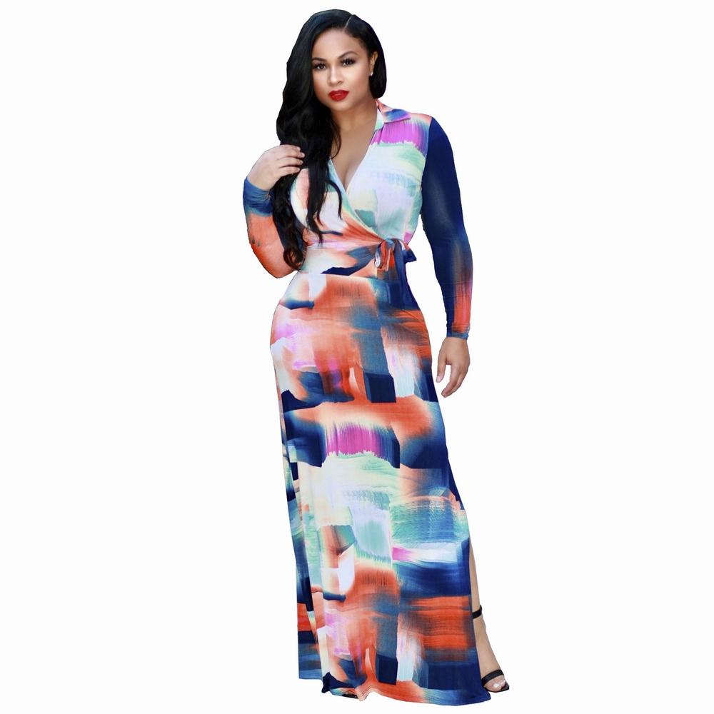 ML20047 Boho Casual Streetwear Dress