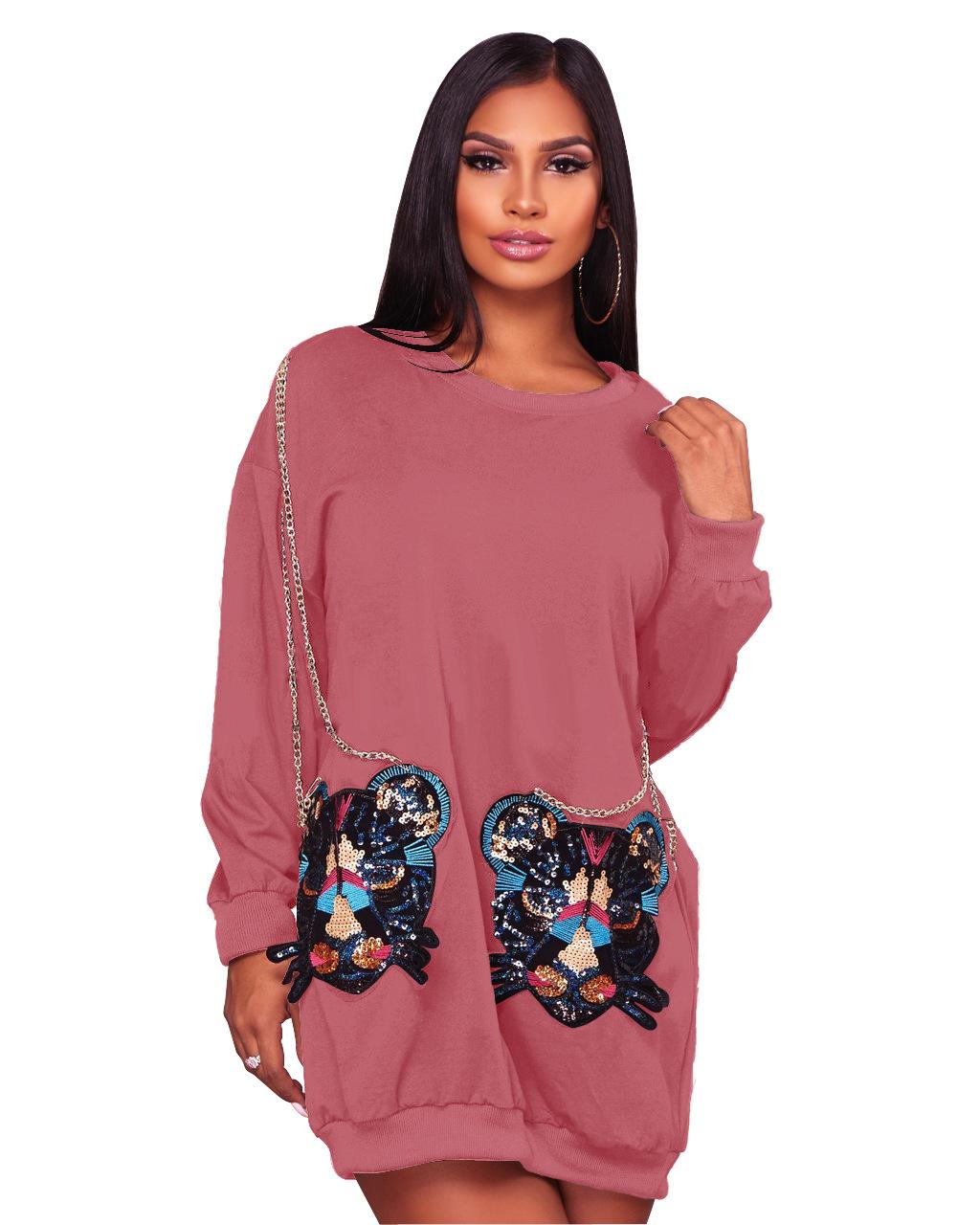 ML20265 New Fashion Casual Autumn Winter Dresses