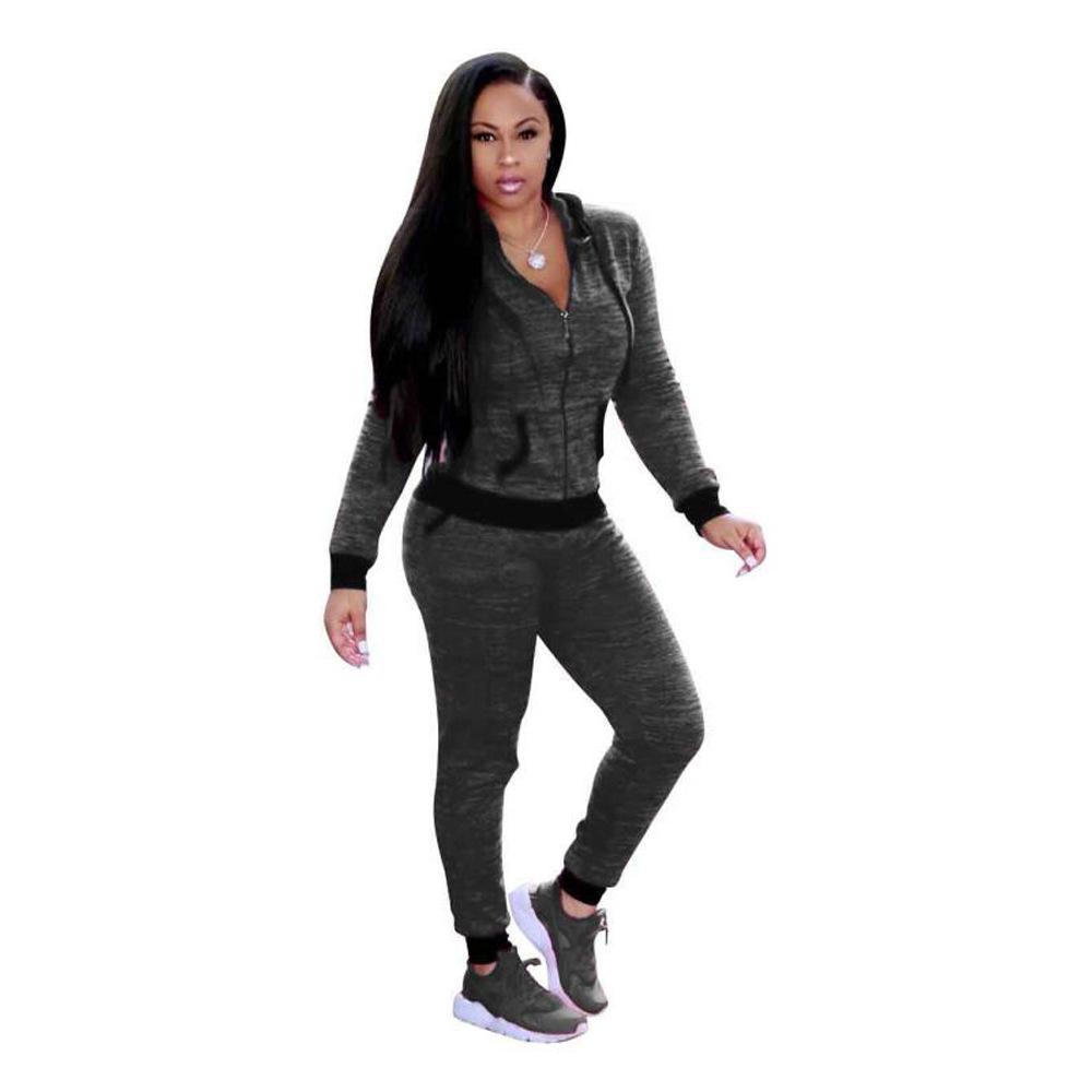 ML20499 Sexy Lady Casual Sportswear Set