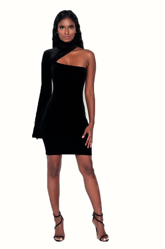 ML20586 Vintage Design Elegant Bandage Dresses