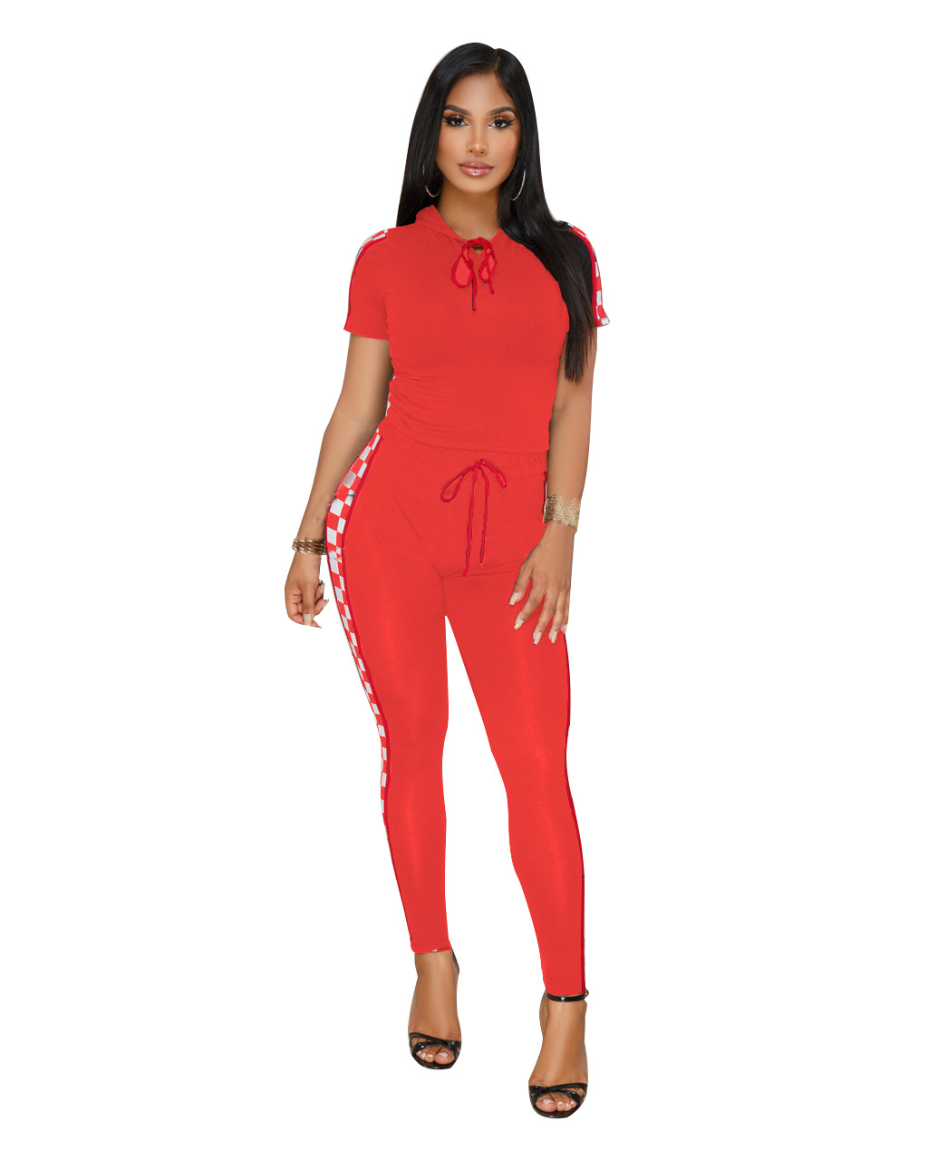 ML20728 Womens Newly 2 Pieces Tracksuits