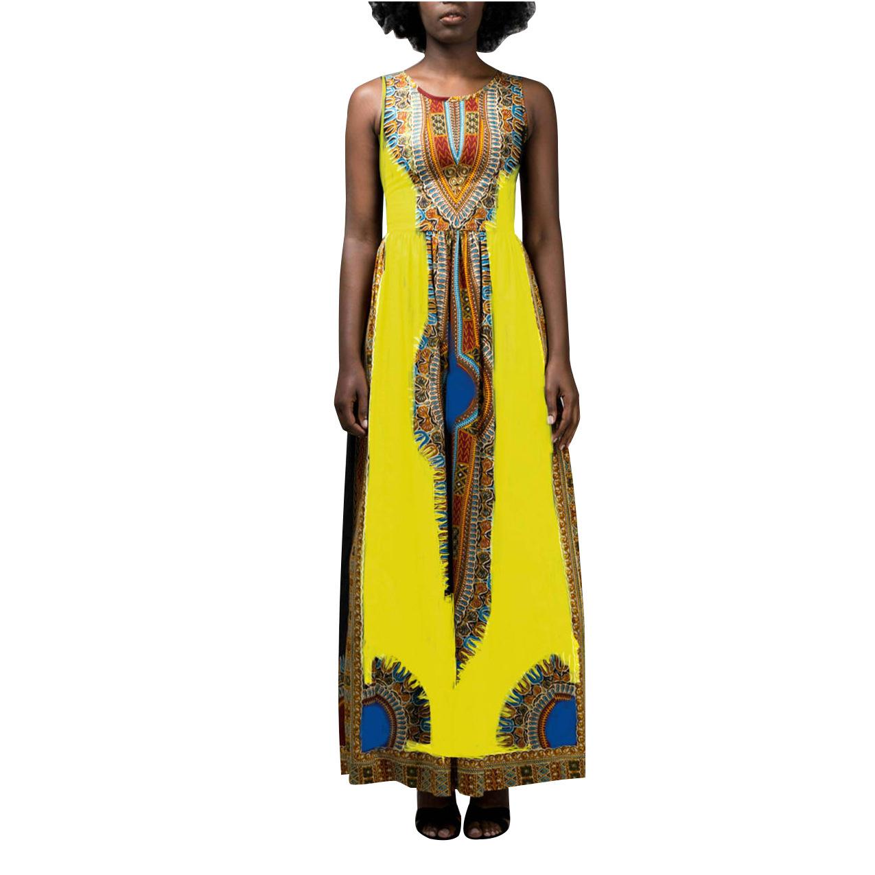 ML20850 Bohomian Sexy Summer Maxi Dress