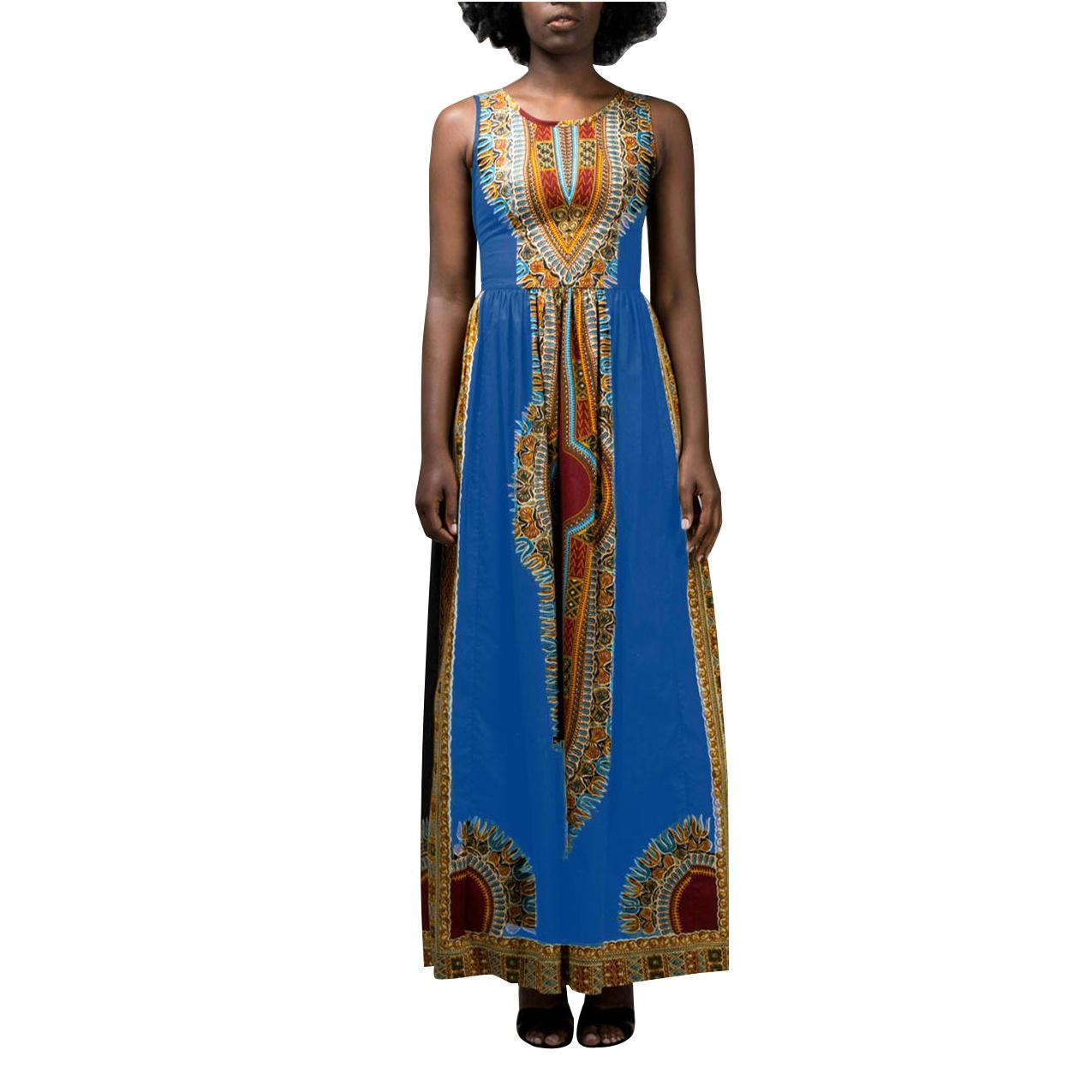 ML20851 Printed Sexy Women Summer Dress