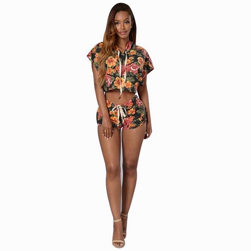 ML20949 Floral Sexy Fashion Women Sets