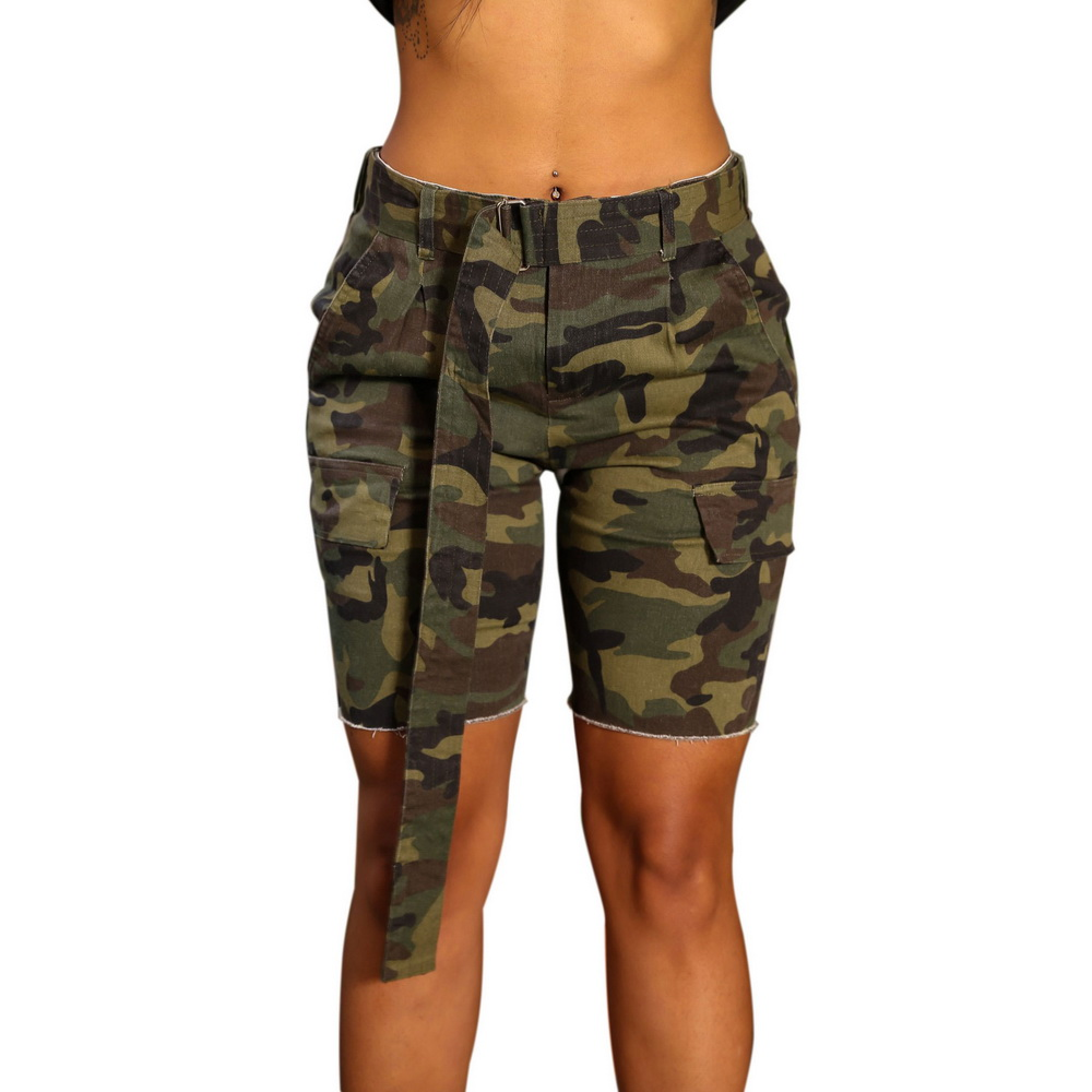 ML21115 Camouflage Beach Style Short Pants