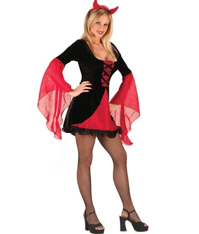 ML5363 Sexy 2 pc Devil Costume