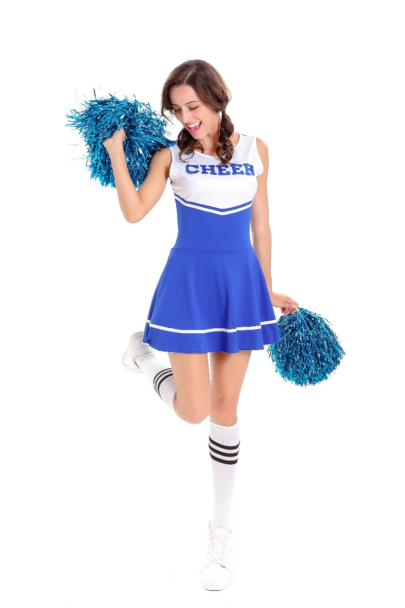 ML5571 Sexy Cheerleader's Outfit Dress