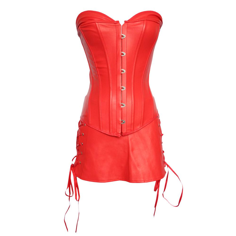 ML4082 Sexy Red Women Fashion Corset