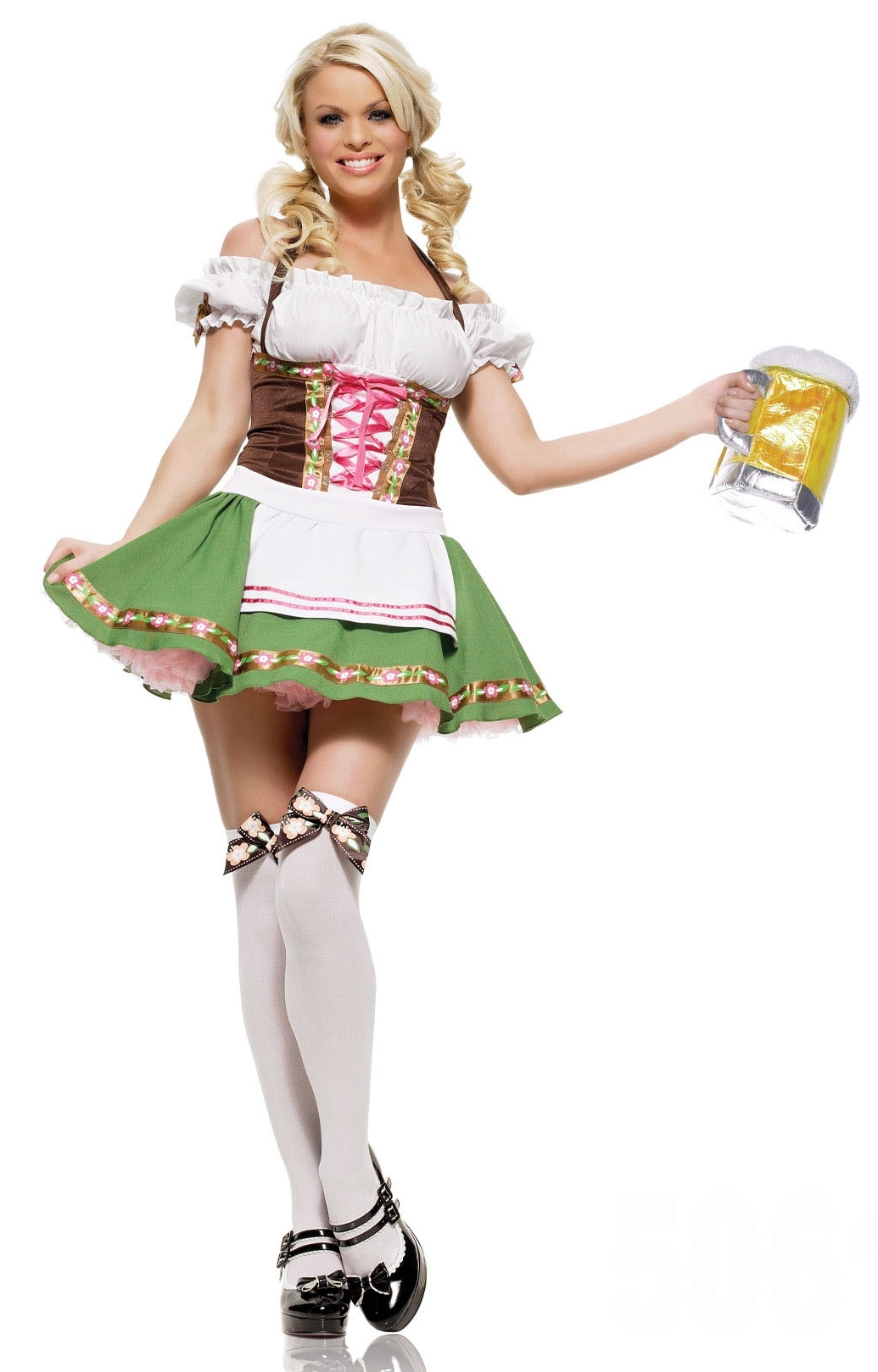 Sexy German Beer Girl