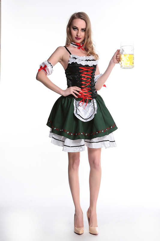 ML5476 Hot Style Lady Beer Girl Costumes