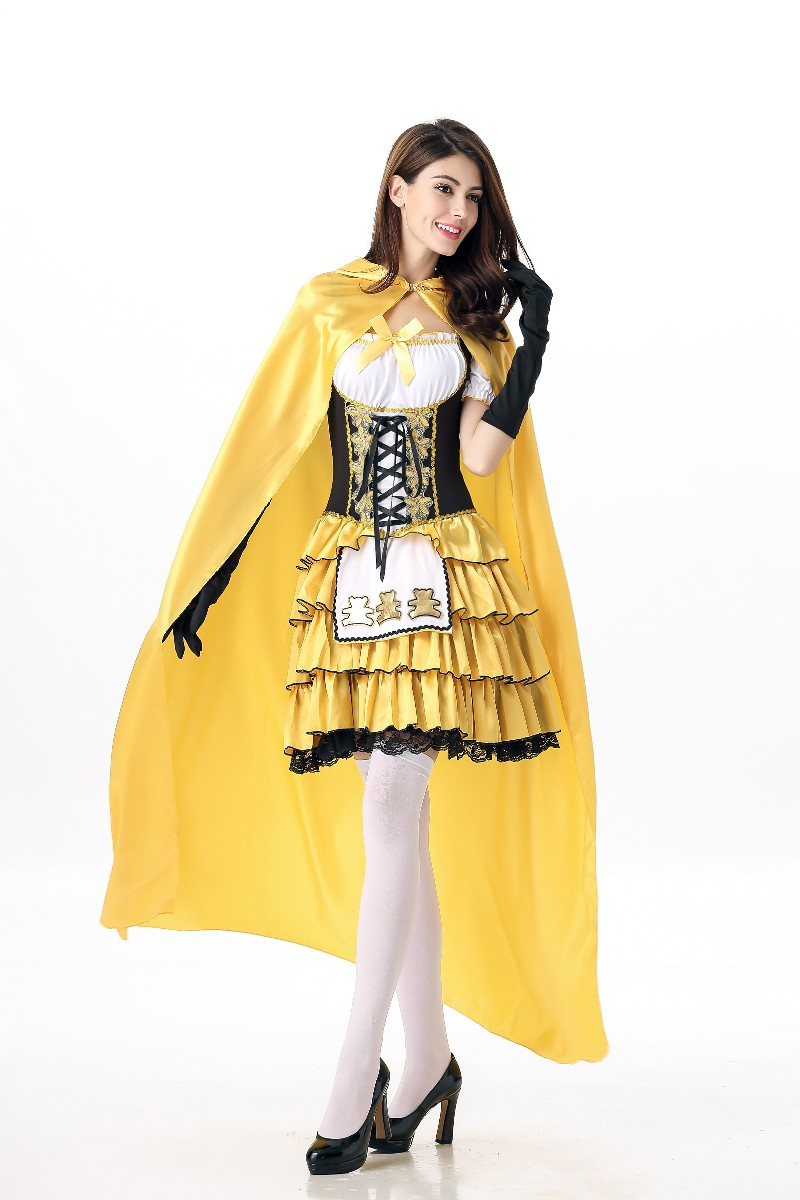 ML5493 New Arrival Dress Beer Women Costume