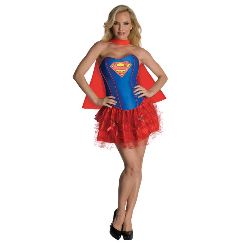 ML5497 Super Girl Dress Costume