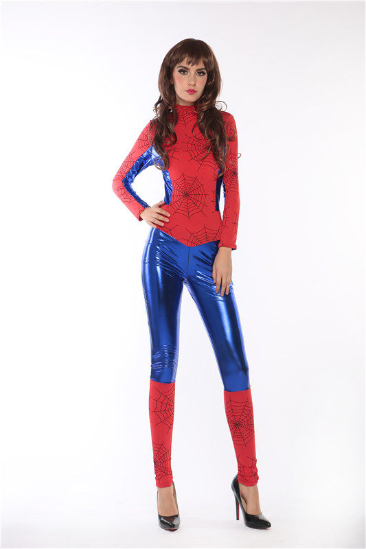 ML5504 Halloween Lady Costume Spider Girl