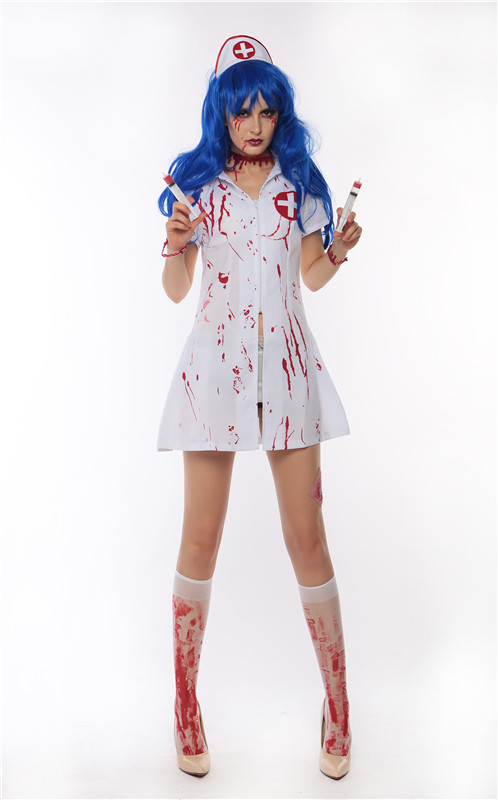 ML5507 Halloween Nurse Dress Costume