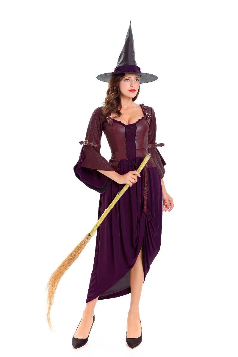 ML5581 Halloween Witches Black Dress Costume