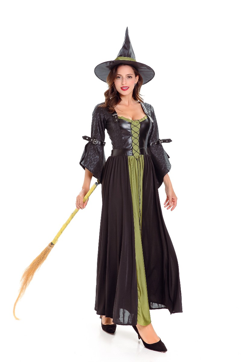 ML5582 Cosplay Haloween Magician Witch Dress