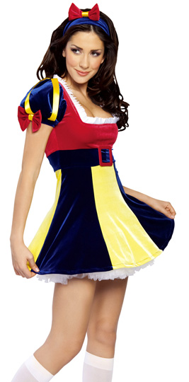 ML5391 Colorful Snow White Costume