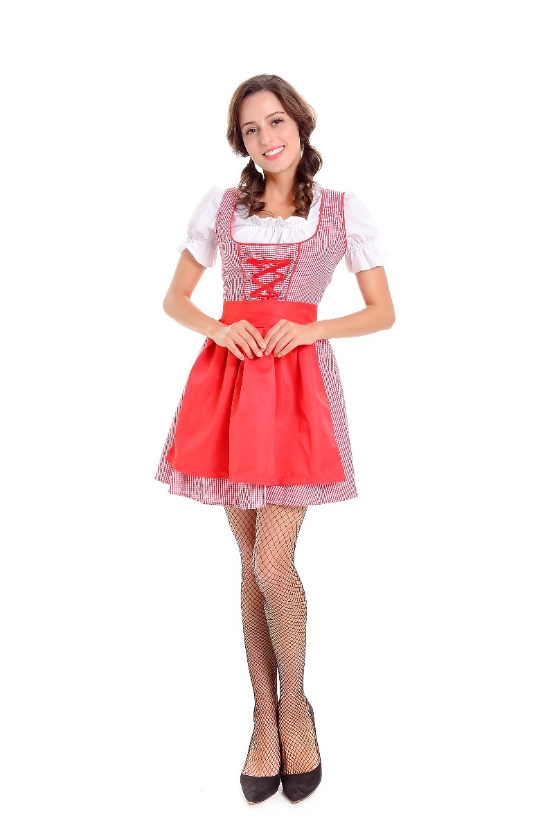 ML5585 Beer Girl Cosplay Sexy Dress Costume