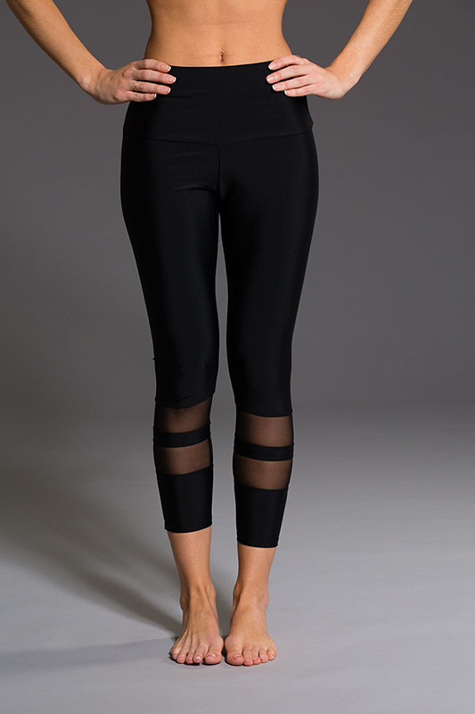 ML7696 Black Sexy Casual Women Running Leggings