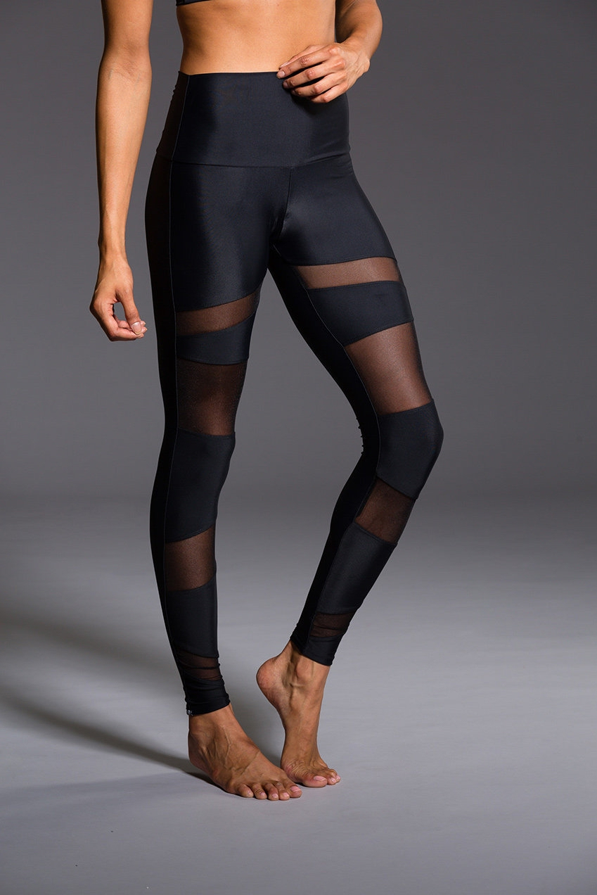 ML7706 Mesh Thin Sexy Sports Legging