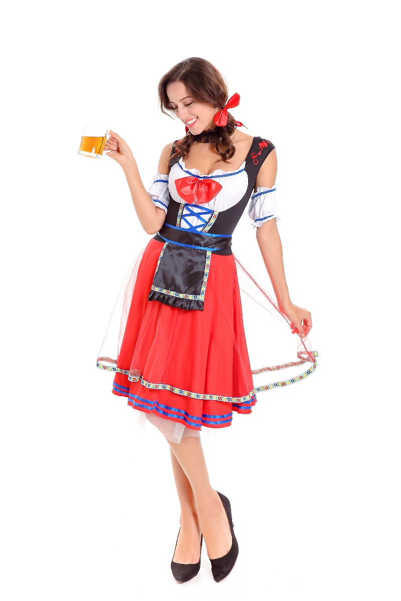 ML5593 Sexy Lady Beer Girl Halloween Party Costume