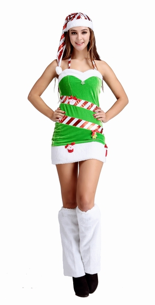 ML8066 Candy Christmas Tree Fancy Dress