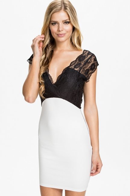 New Arrival ML18169 Deep V-Neckline and Backline Sexy Party Dress