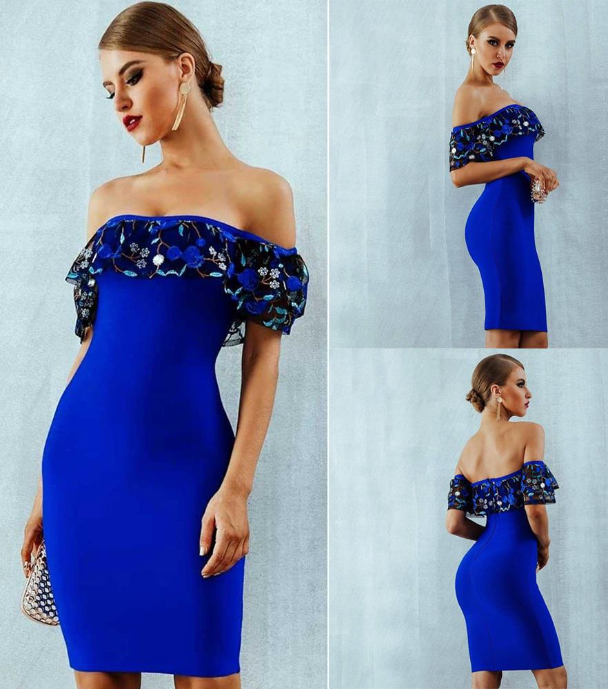 ML22937 Sexy Women Strapless Bodycon Mini Party Dress