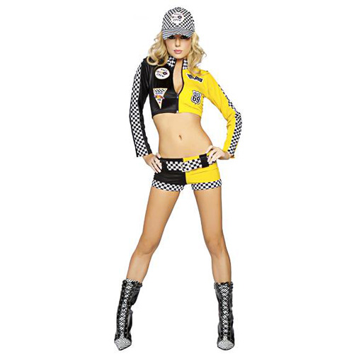 Full Throttle Sexy Racing Suit Costume