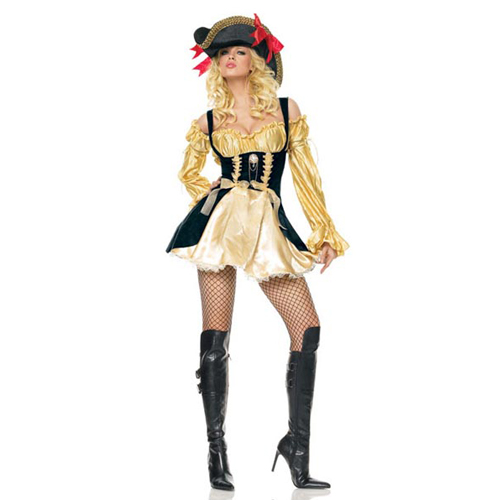 Sexy Marauders Wench Lady Pirate Costume