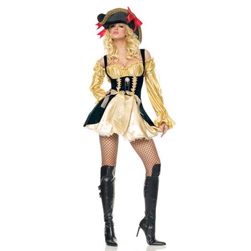 Sexy Marauders Wench Lady Pirate Costume