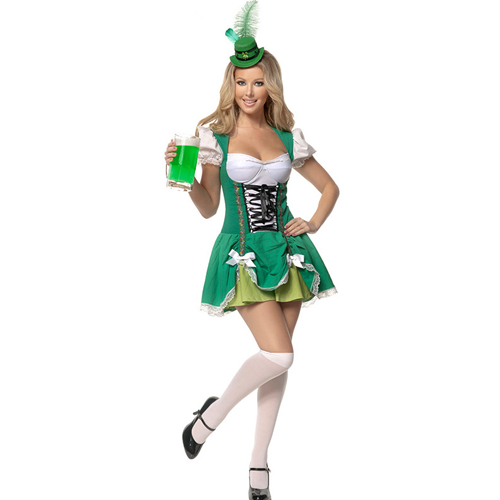Lucky Lass Sexy Irish Costume