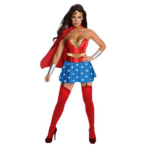 The Deluxe Wonder Women Outfit
