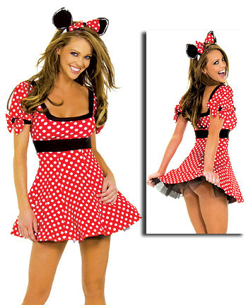 ML5365 Adult Mini Mouse Costume