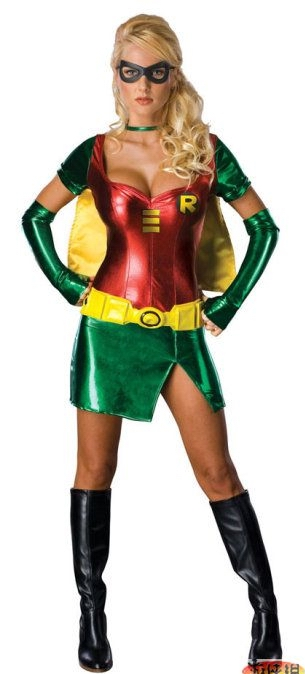 ML5368 Sexy Female Robin Costume