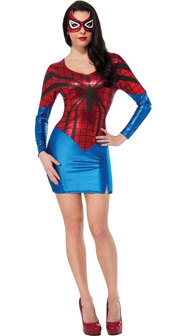 ML5389 Spider-Girl Womens Dress Costume