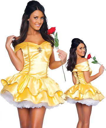 ML5390 Belle Halloween Princess Adult Costume