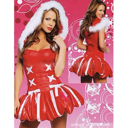 sexy fancy dress christmas costume