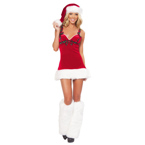 2014 New Year Mrs. Claus Costumes for Christmas