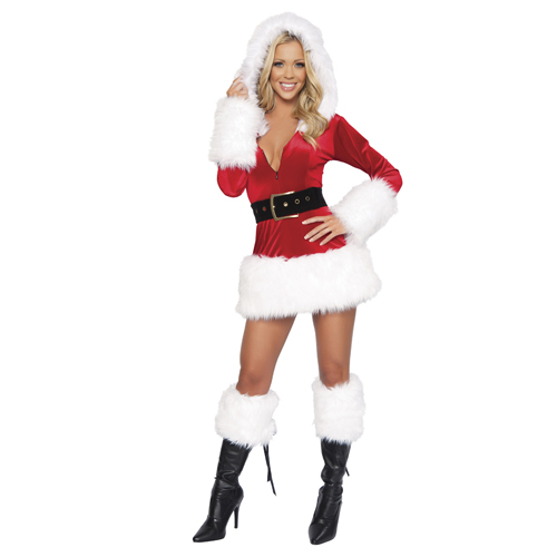 2014 New Style Christmas Mrs. Claus Costume