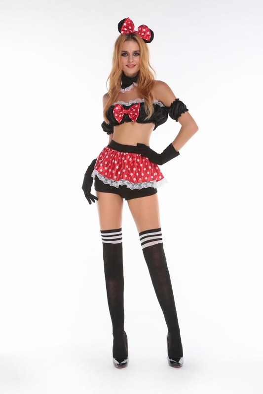 ML9050 Sexy Girls Minnie Mouse Costumes