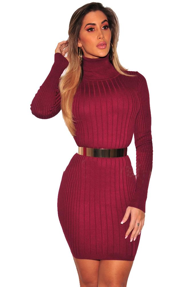 ML20478 Party Long Sleeves Short Autumn Dress